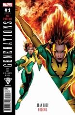 Generations Phoenix & Jean Grey #1 Variant E: Fried Pie Comics Variant Cover