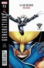 Generations Wolverine & All-New Wolverine #1 Variant G: Fried Pie Comics Variant Cover