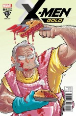 X-Men: Gold (2017-2018) #1 Variant L: Fried Pie Comics Sketch Variant Cover