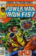 Power Man and Iron Fist (1978-1986) #51 Variant B: UK Edition