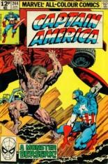 Captain America (1968-1996) #244 Variant C: UK Edition