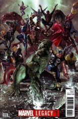 Marvel Legacy (2017) #1 Variant O: Convention Exclusive Virgin Variant