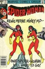 Spider-Woman (1978-1983) #25 Variant A: Newsstand Edition