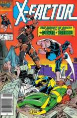 X-Factor (1986-1998) #4 Variant A: Newsstand Edition