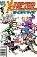 X-Factor (1986-1998) #5 Variant A: Newsstand Edition