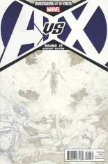 Avengers vs. X-Men (2012) #12 Variant G: Sketch Cover