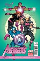 Avengers (2010-2012) #31 Variant B: Susan G. Komen Cover