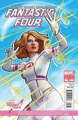 Fantastic Four (2012) #611 Variant B: Susan G. Komen Variant
