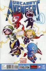 Uncanny Avengers (2012-2014) #1 Variant C: Baby Cover