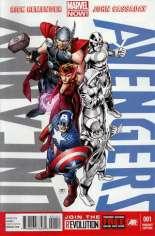 Uncanny Avengers (2012-2014) #1 Variant E: Team Avengers Cover
