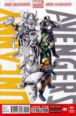Uncanny Avengers (2012-2014) #1 Variant F: Team X-Men Cover