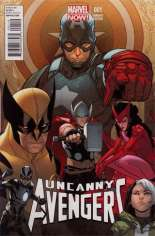 Uncanny Avengers (2012-2014) #1 Variant M: Incentive Cover