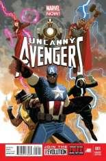 Uncanny Avengers (2012-2014) #1 Variant H: 1:50 Variant