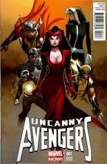 Uncanny Avengers (2012-2014) #1 Variant K: 1:100 Variant
