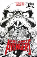 Uncanny Avengers (2012-2014) #1 Variant P: The Lair Exclusive Sketch Cover