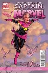 Captain Marvel (2012-2014) #5 Variant B: Susan Komen Cover