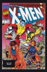 X-Men (1991-2001, 2004-2008) #1 Variant P: Marvel Universe Greatest Battles Comic Pack Reprint Packaged w/ Gambit and Mister Sinister