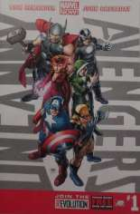 Uncanny Avengers (2012-2014) #1 Variant S: Retailer Advanced Copy