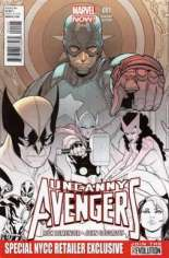 Uncanny Avengers (2012-2014) #1 Variant T: NYCC Exclusive