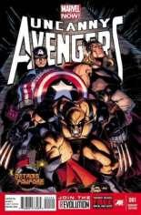 Uncanny Avengers (2012-2014) #1 Variant U: Detroit Fanfare Exclusive