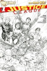 Justice League (2011-2016) #1 Variant O: Retailer Roadshow Variant Cover