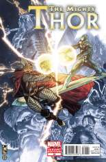 Mighty Thor (2011-2012) #22 Variant B: Final Issue Cover