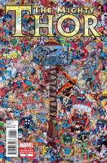 Mighty Thor (2011-2012) #22 Variant C: Collage Cover