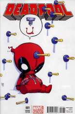 Deadpool (2012-2015) #1 Variant B: Baby Cover