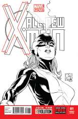 All-New X-Men (2013-2015) #1 Variant G: 1:150 Sketch Cover