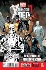 All-New X-Men (2013-2015) #1 Variant J: Deadpool Sketch Cover