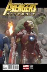 Avengers Assemble (2012-2014) #9 Variant C: Movie Cover