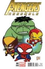 Avengers Assemble (2012-2014) #9 Variant D: Incentive Cover