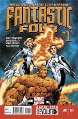 Fantastic Four (2012-2014) #1 Variant A