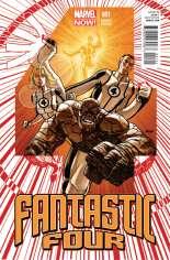 Fantastic Four (2012-2014) #1 Variant E: 1:50 Variant