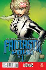 Fantastic Four (2012-2014) #1 Variant F: 1:100 Variant