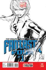 Fantastic Four (2012-2014) #1 Variant G: 1:150 Sketch Cover
