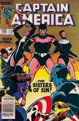 Captain America (1968-1996) #295 Variant A: Newsstand Edition