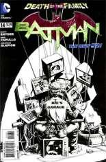 Batman (2011-2016) #14 Variant D: 1:100 Sketch Cover