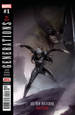 Generations Wolverine & All-New Wolverine #1 Variant H: 2nd Printing