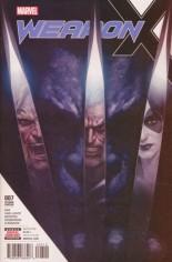 Weapon X (2017-Present) #7 Variant B: 2nd Printing