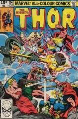 Thor (1966-1996) #296 Variant C: UK Edition