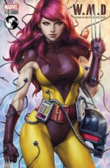 W.M.D. Weapons Of Mutant Destruction #1 Variant D: Unknown Comics Exclusive Variant Color Cover