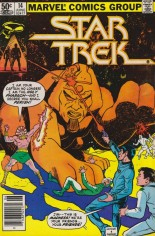 Star Trek (1980-1982) #14 Variant A: Newsstand Edition