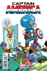 Captain America (2012-2014) #1 Variant C: Baby Cover