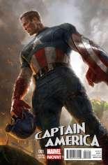 Captain America (2012-2014) #1 Variant E: 1:50 Variant