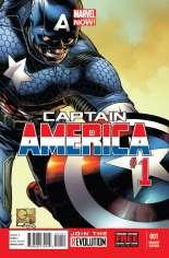 Captain America (2012-2014) #1 Variant F: 1:100 Variant