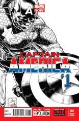 Captain America (2012-2014) #1 Variant G: 1:150 Sketch Cover
