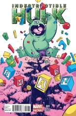 Indestructible Hulk (2013-2014) #1 Variant B: Baby Cover