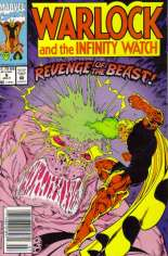 Warlock and the Infinity Watch (1992-1995) #6 Variant A: Newsstand Edition