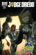 Judge Dredd (2012-2015) #1 Variant F: Midtown Comics Exclusive